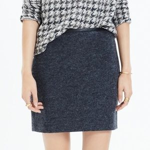 Madewell Gamine Skirt in Grey